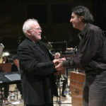 Composer Cristian Lolea and conductor Wim Boerman